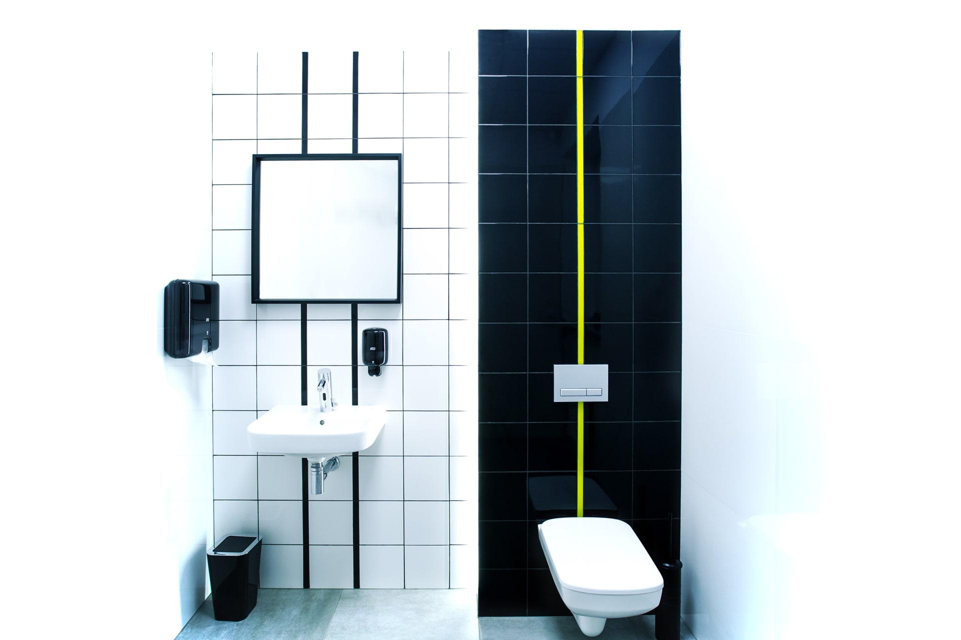 Toaleta Centrum Badań RTG w Poznaniu